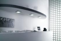 Luminaire halogène : Kit Major aluminium - 20 W/12 V
