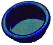 Garniture classique : A encastrer - platine ronde - profondeur 9 mm