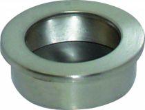 Garniture classique : A encastrer - platine ronde - profondeur 11 mm