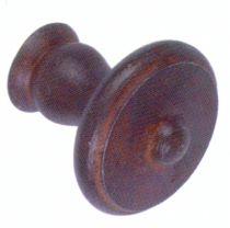 Garniture de style : Bouton ancien acier