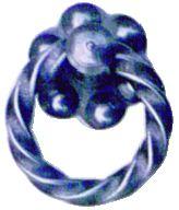Garniture de style : Acier - anneau fer torsadé