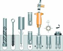 Cheville pour fixation lourde : Outils de pose pour Grip
