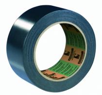 Ruban adhésif : Vynile plastifié 15/100 mm - noir - 6094
