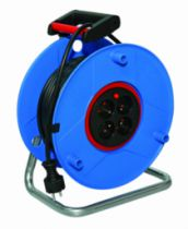 Enrouleur - prolongateur : Série S-RB - câble HO5 VV-F 3G1,5 avec disjoncteur thermique
